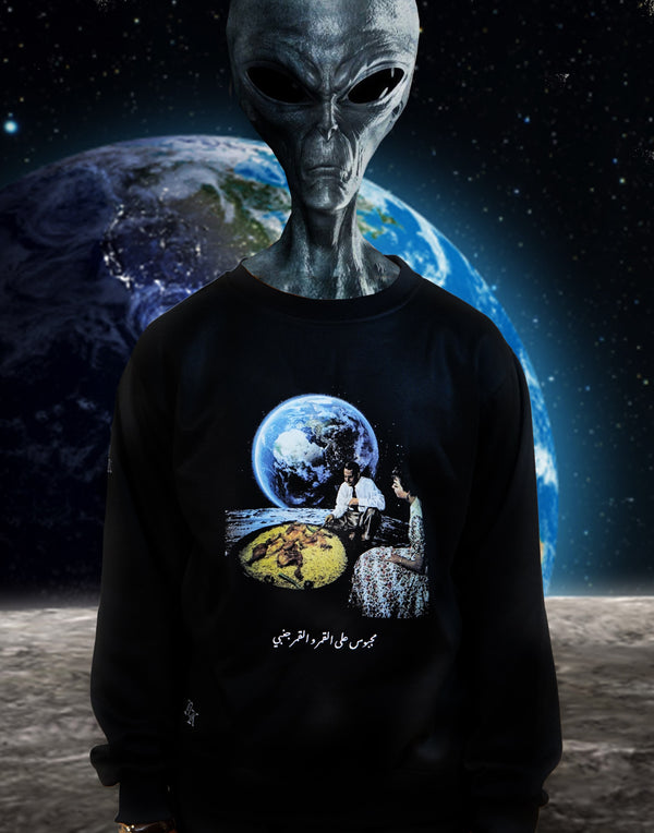 """MACHBOOS ON THE MOON"" SWEATER"