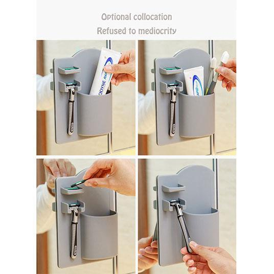(60% OFF TODAY)Bathroom Organizer(2 Pcs)