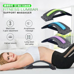 Magic Stretcher Fitness Lumbar Support Massager