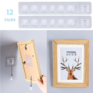 Double-sided Adhesive Wall Hooks ( BUY MORE SAVE MORE )