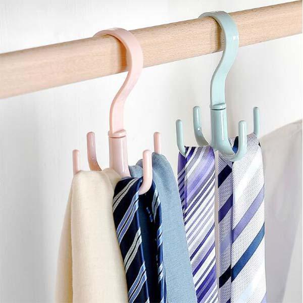 360 Degree Rotating Household Hanger Hook (4pcs)