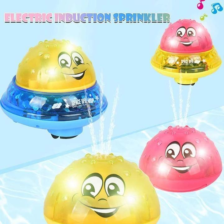 Kids Electric Induction Sprinkler Toy