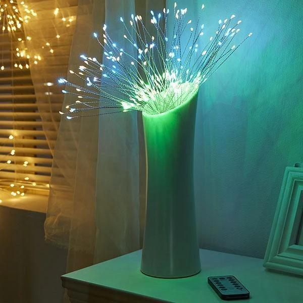 Remote Controlled LED Starburst Lights with 8 Modes