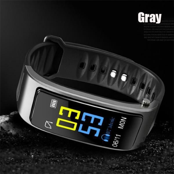 Smart Watch with Bluetooth Earphones