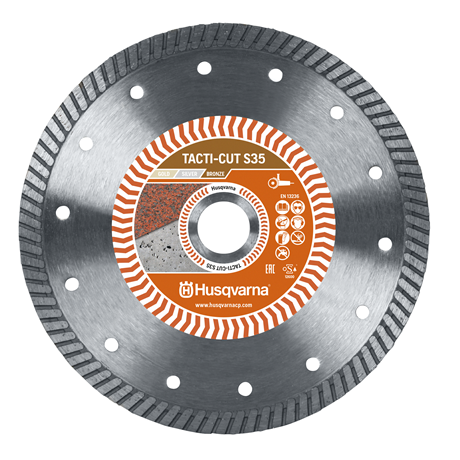 Husqvarna  Diamond blades TACTI-CUT S35 230 10 22.2