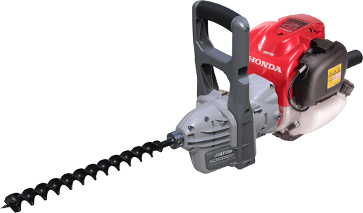 Atom 960 Professional Drillmaster Heavy Duty Honda powered 4-Stroke engine drill