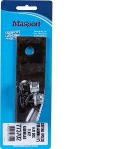 "MASPORT 485mm (19"") Flat Disc Blade & Bolt Set"