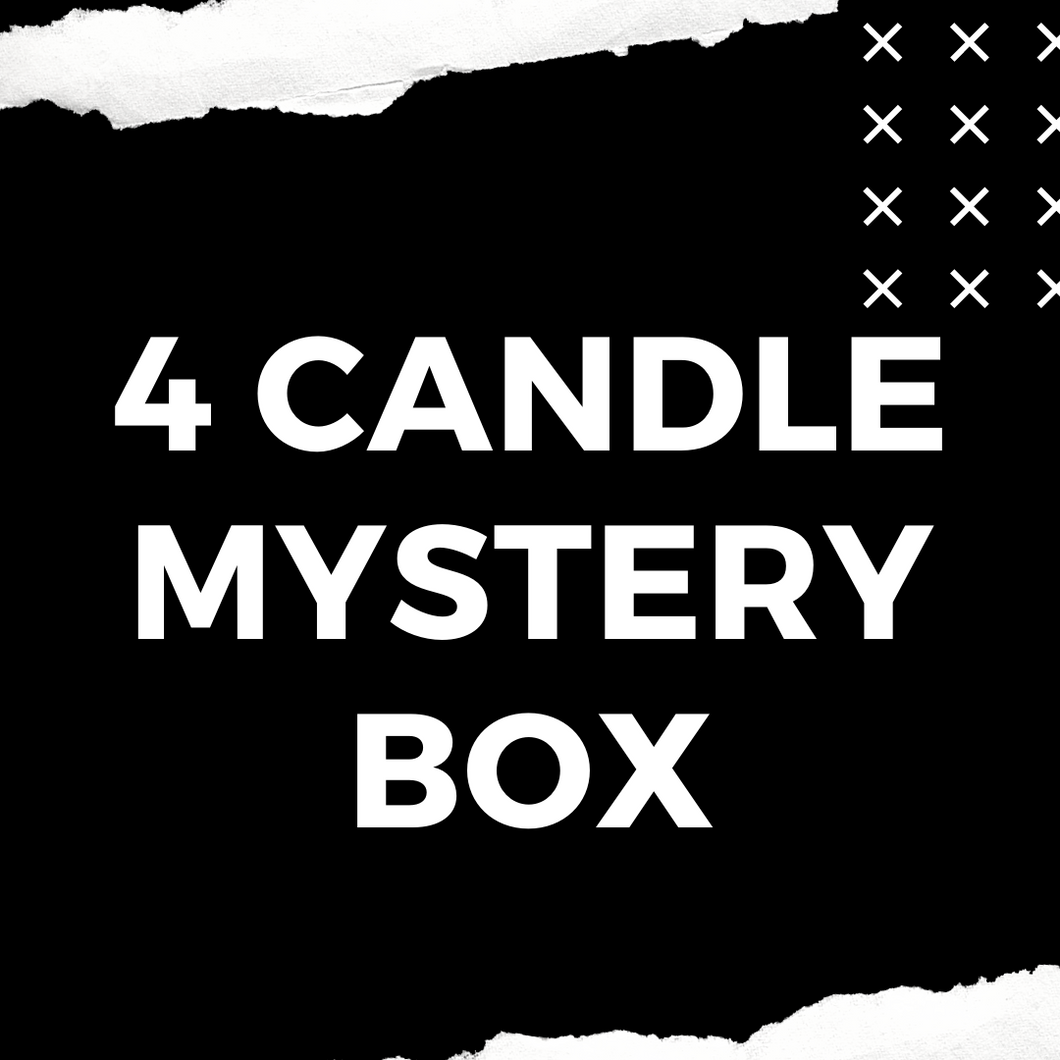 4 Candle Mystery Box
