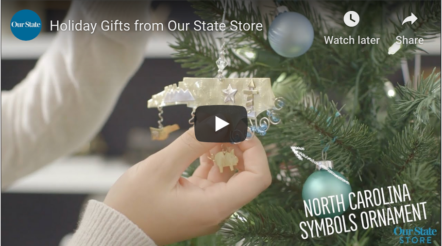VIDEO: HOLIDAY GIFTS FROM OUR STATE STORE