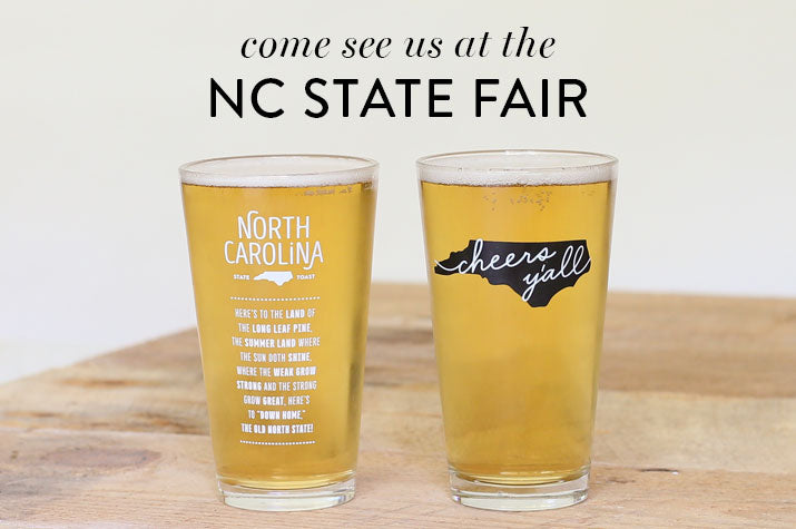 SHOP WITH US AT THE NC STATE FAIR