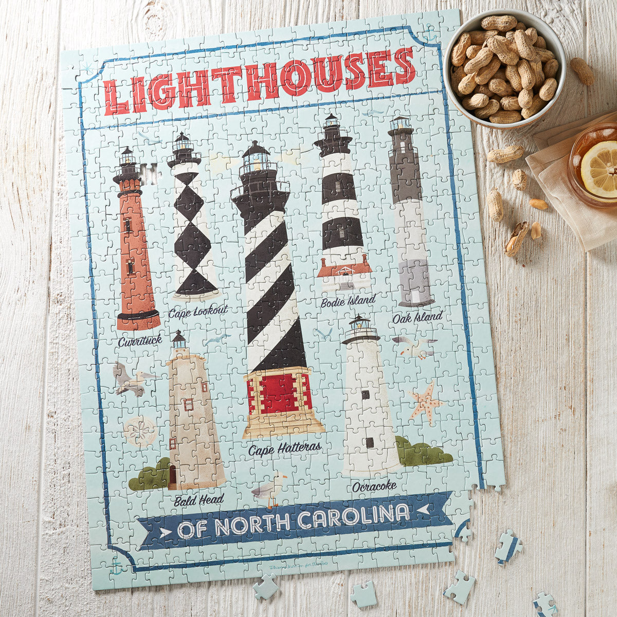 North Carolina Lighthouse Puzzle