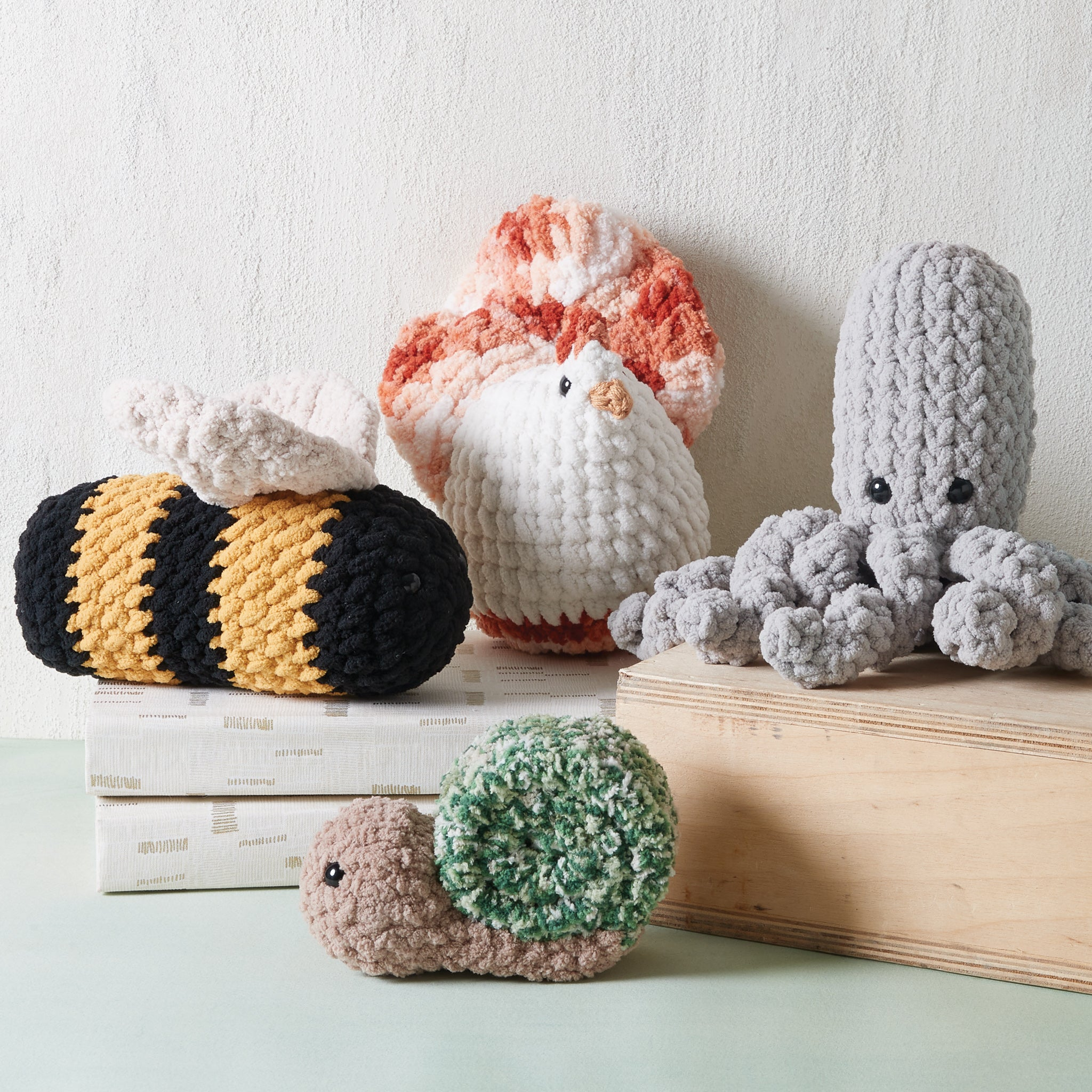 Crocheted Plush Critters