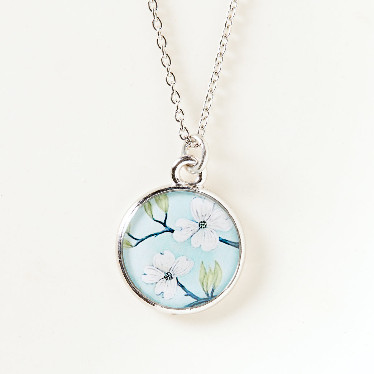 Blooming Dogwood Necklace