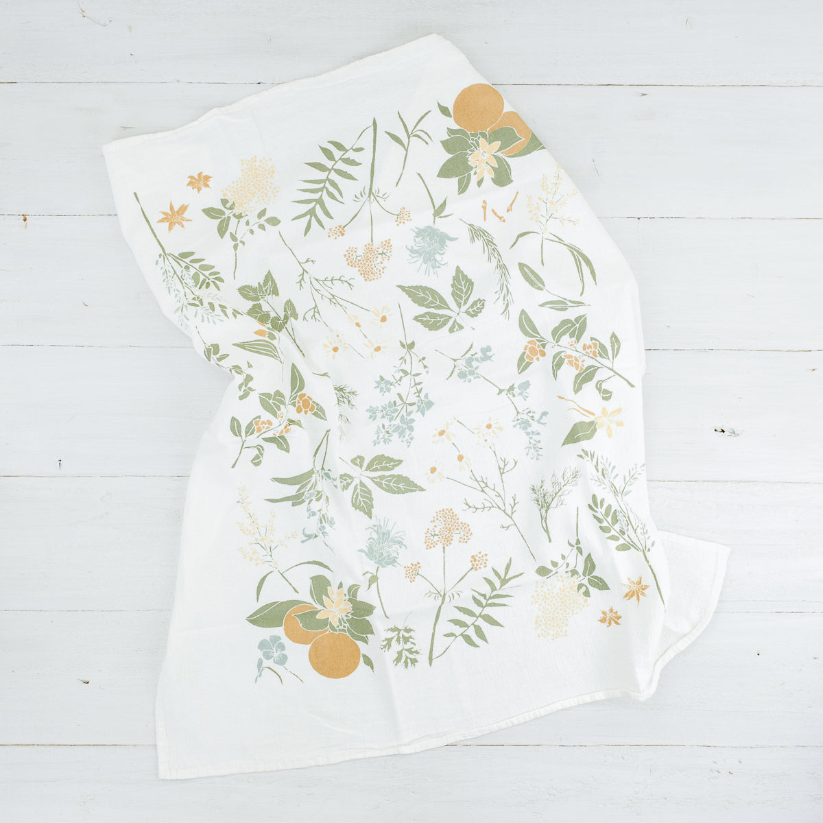 Tea Garden Kitchen Towel