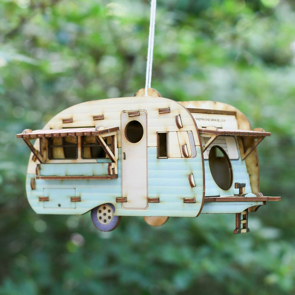 Camper Birdhouse Set