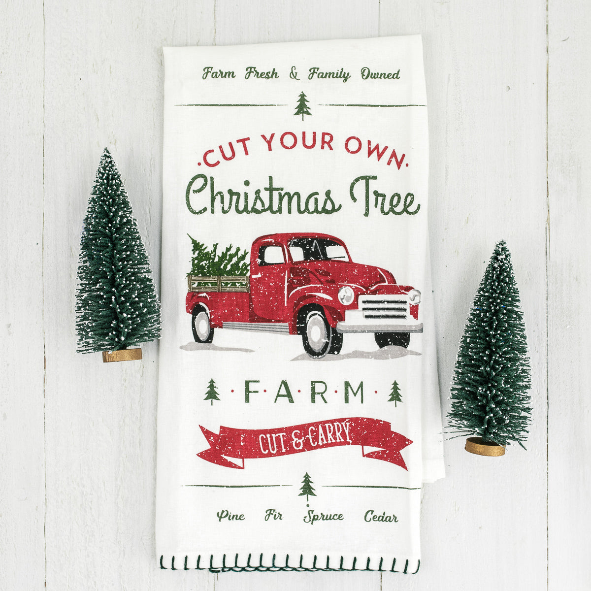 Christmas Tree Farm Towel