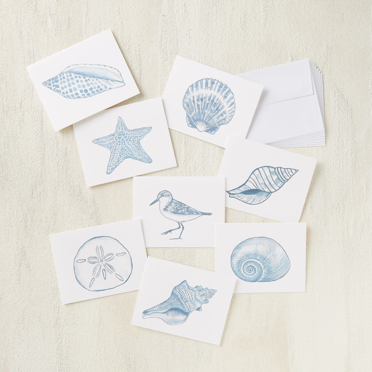 Coastal Greeting Card Set