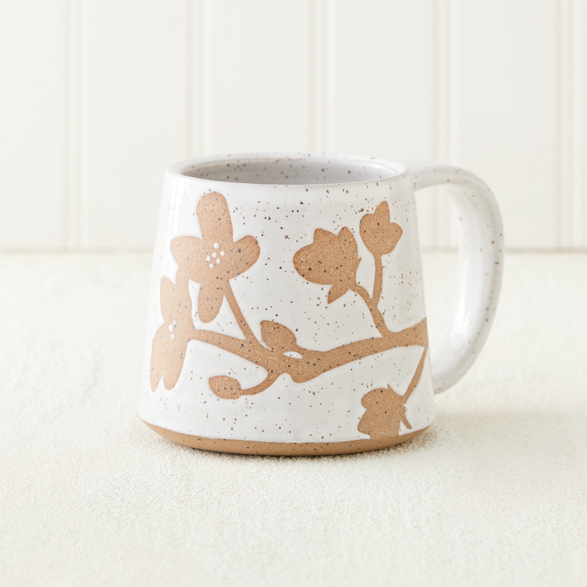 Dogwood Branch Pottery Mug