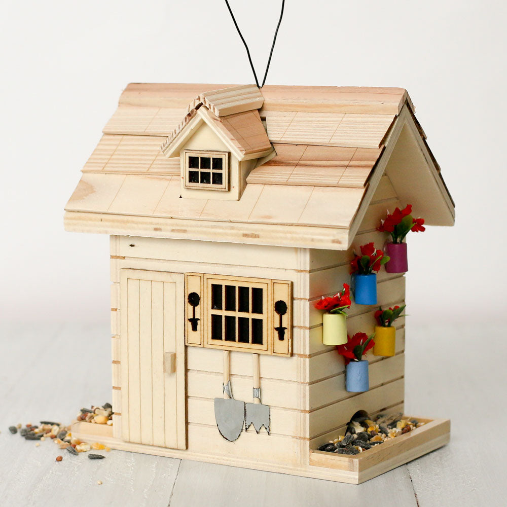 Garden Shed Bird Feeder