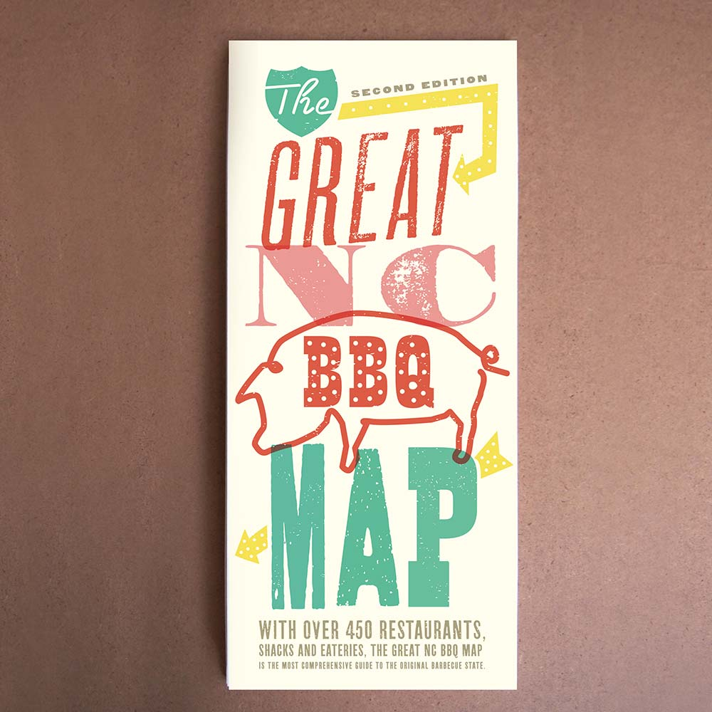 The Great NC BBQ Map