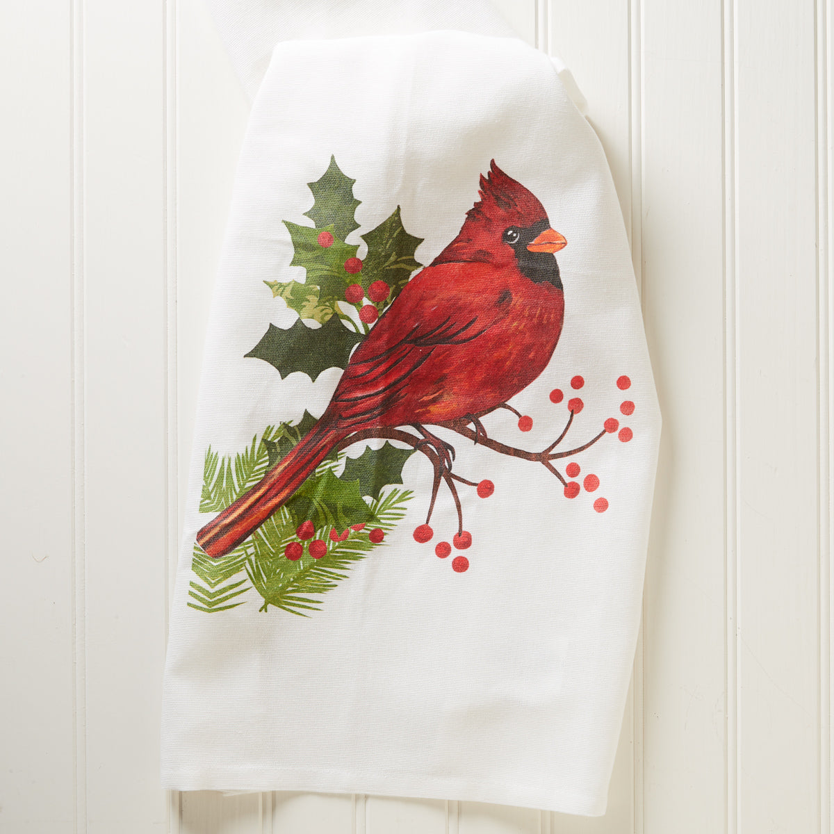 Cardinal Holiday Kitchen Towel