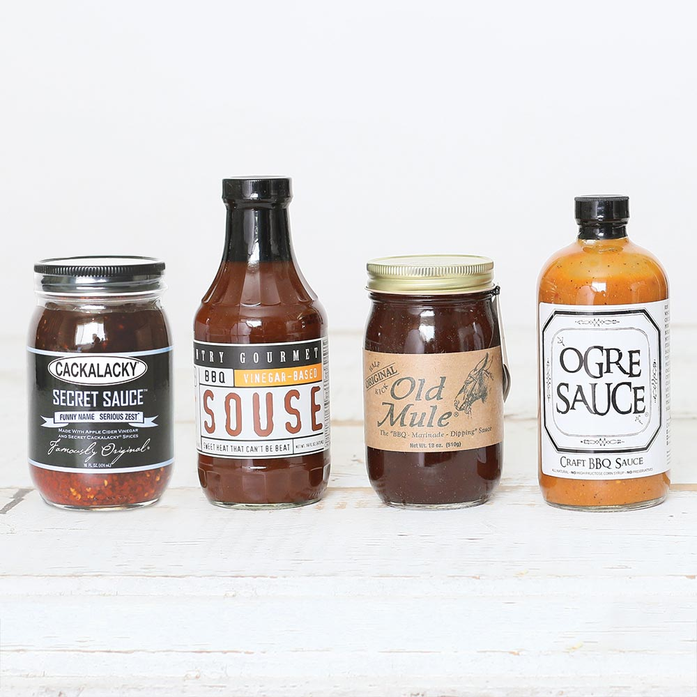 NC Barbecue Sauce Assortment
