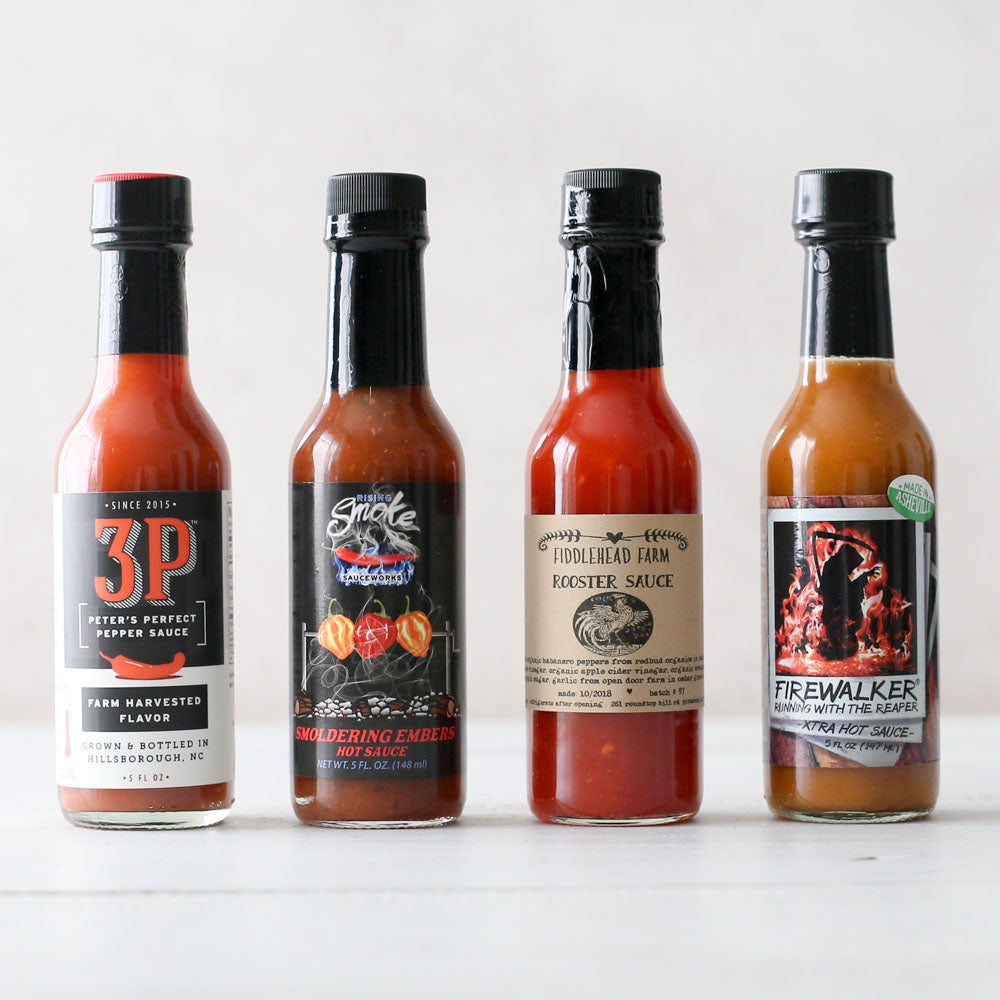 North Carolina Hot Sauce Assortment
