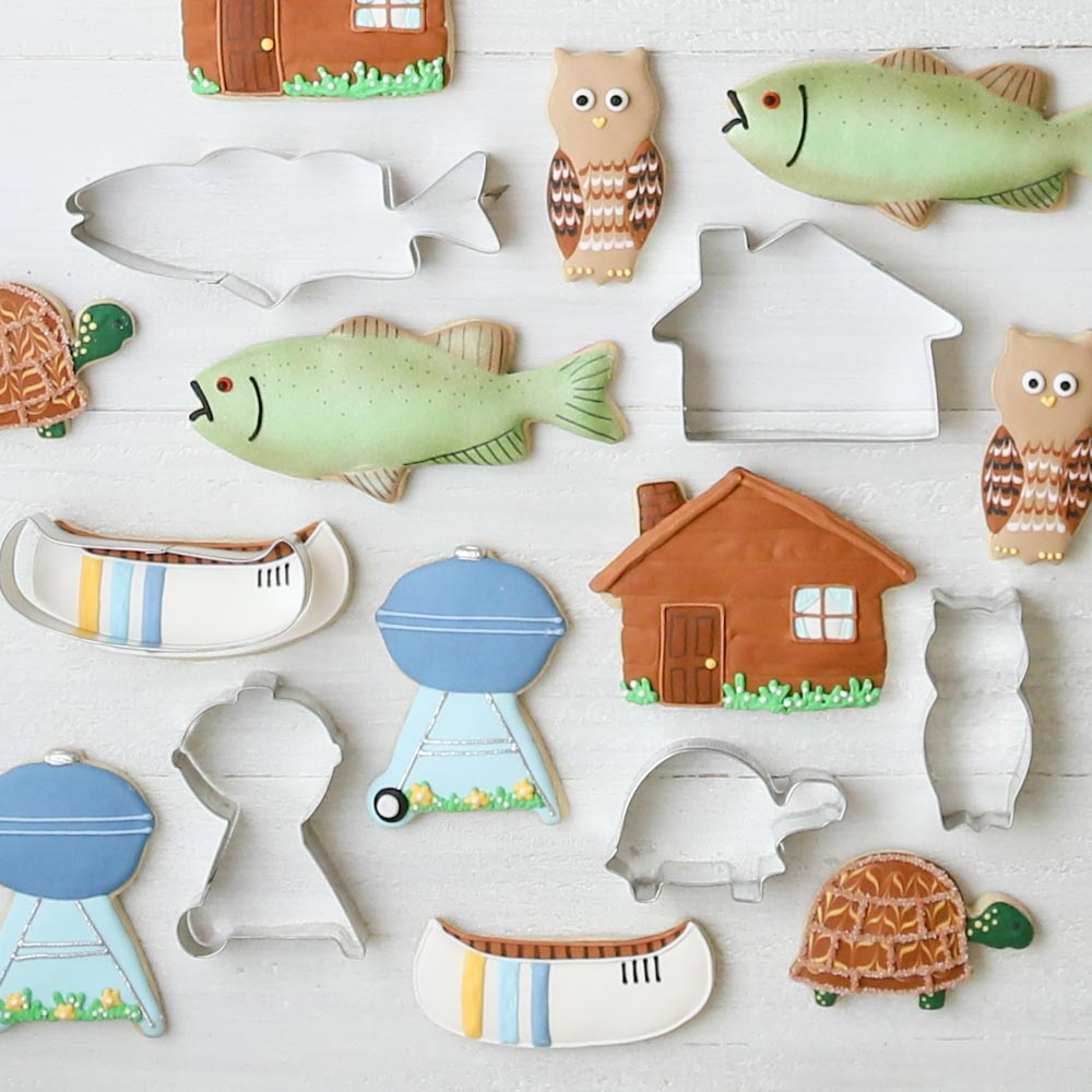 Lake Cookie Cutter Set