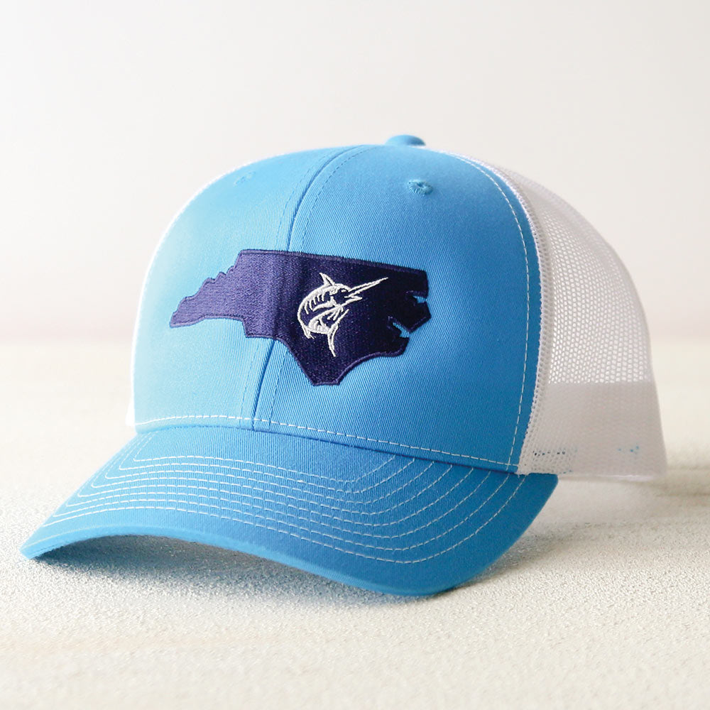 North Carolina Marlin Mesh Cap