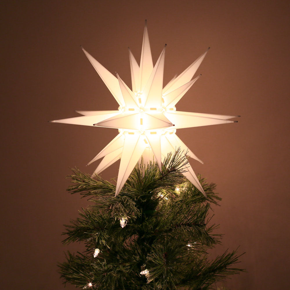 Moravian Star Light Tree Topper North Carolina Christmas Our State Store