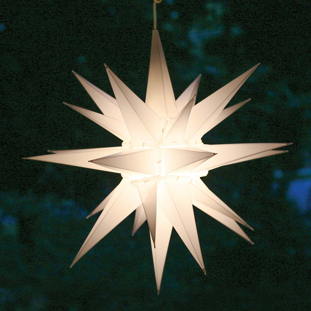 Moravian Star Porch Light