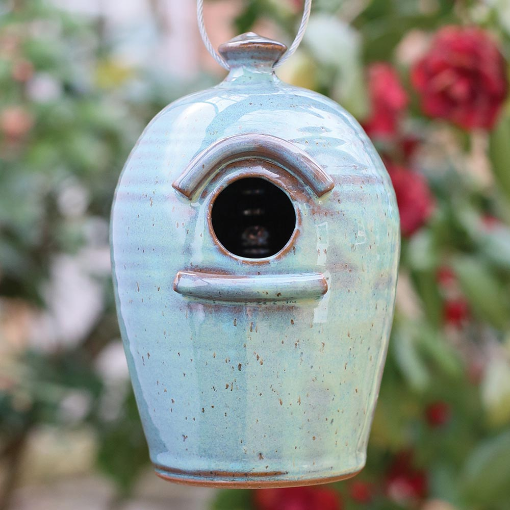Pottery Birdhouse