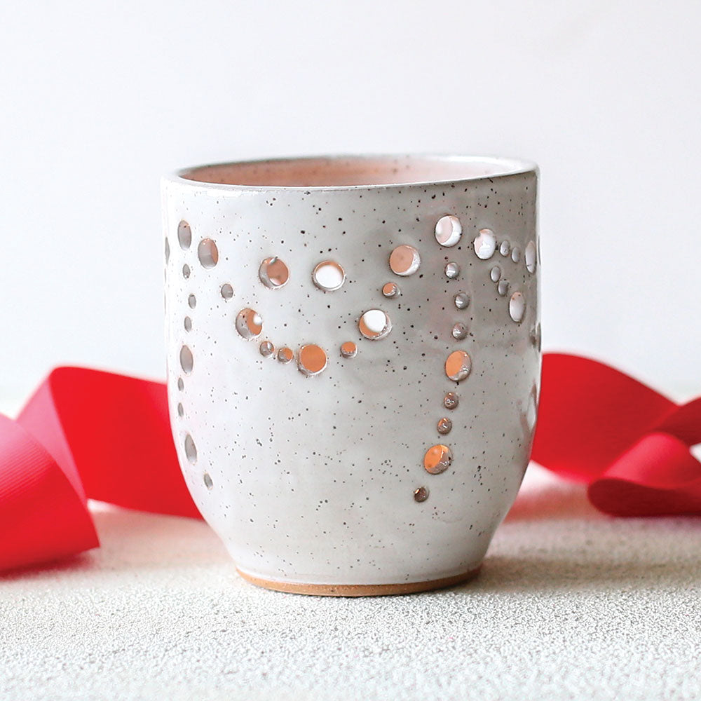 Pottery Luminary