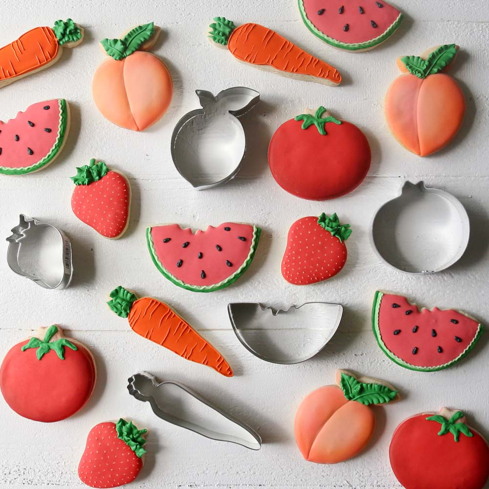 Produce Cookie Cutter Set