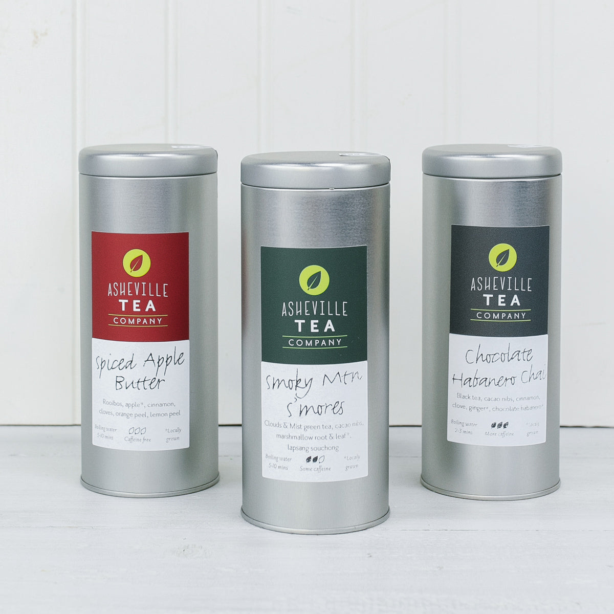 North Carolina Tea Tin Trio