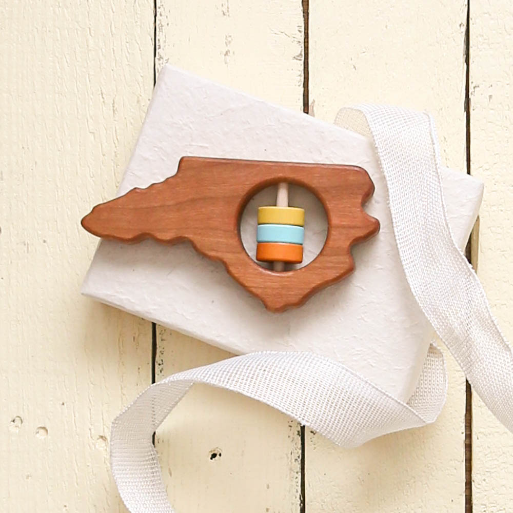 North Carolina Wooden Baby Toy