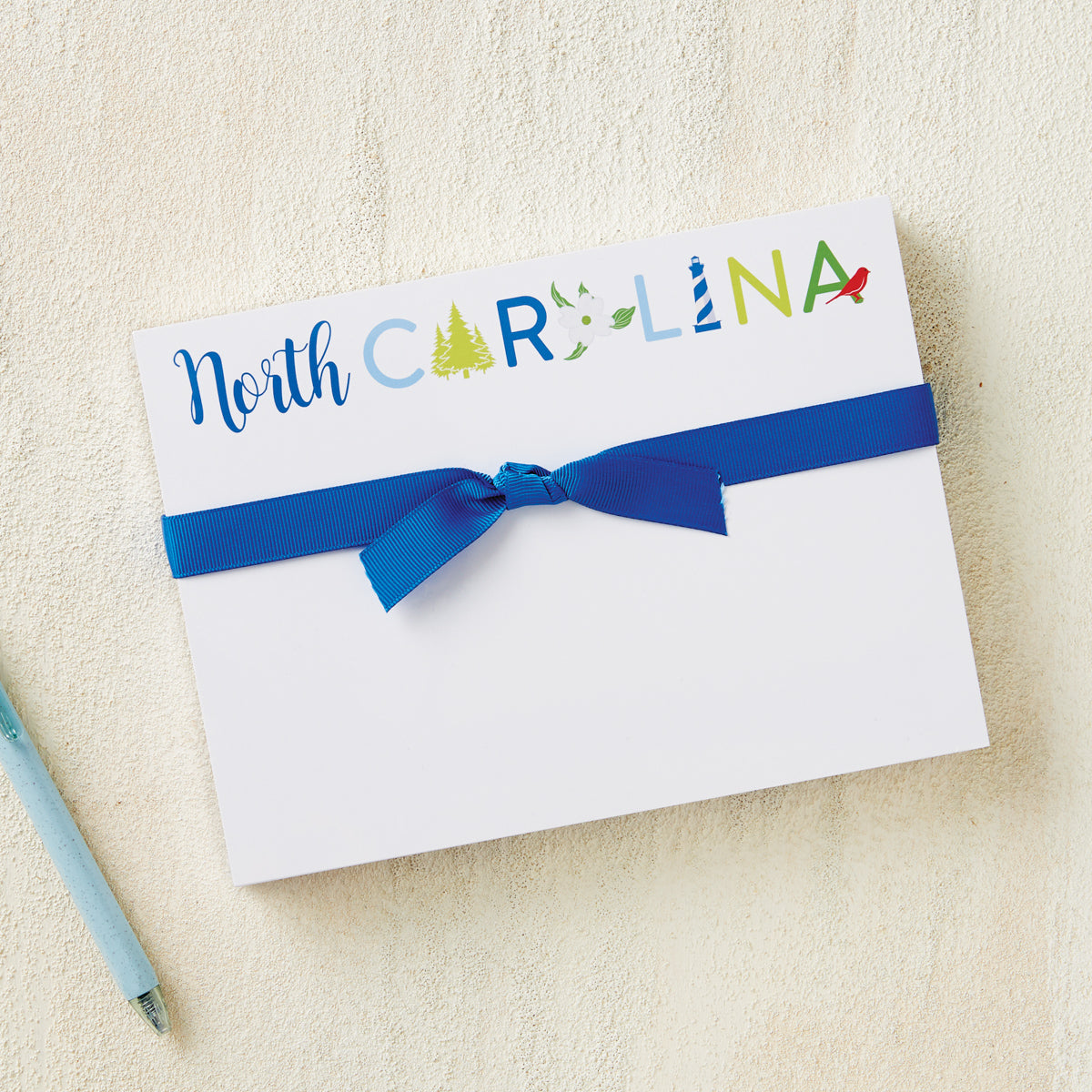 North Carolina Icons Notepad