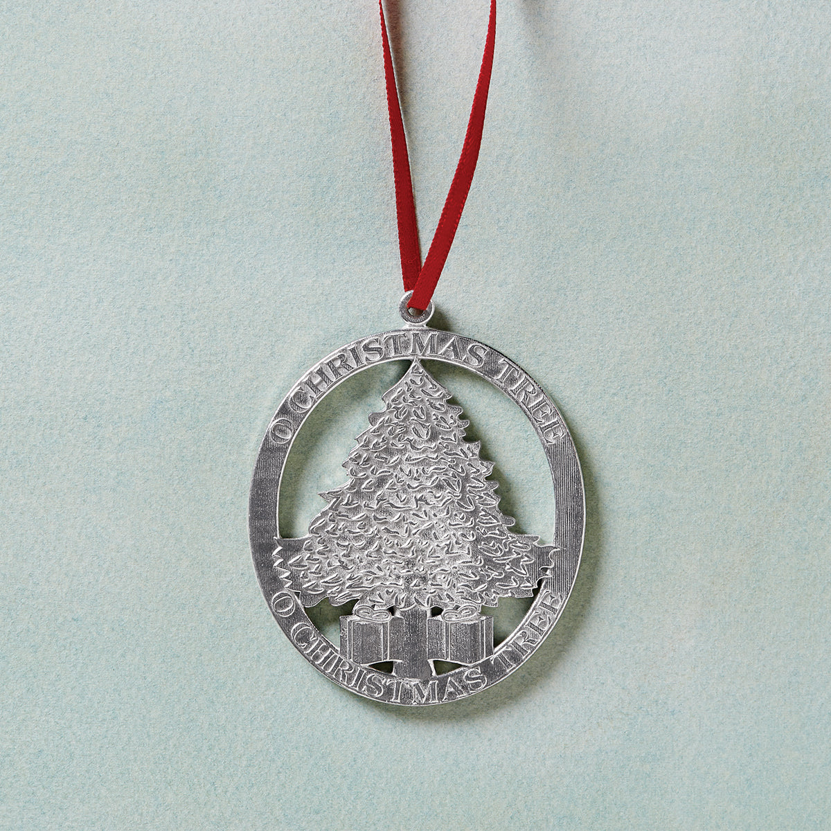 'O Christmas Tree' Pewter Ornament