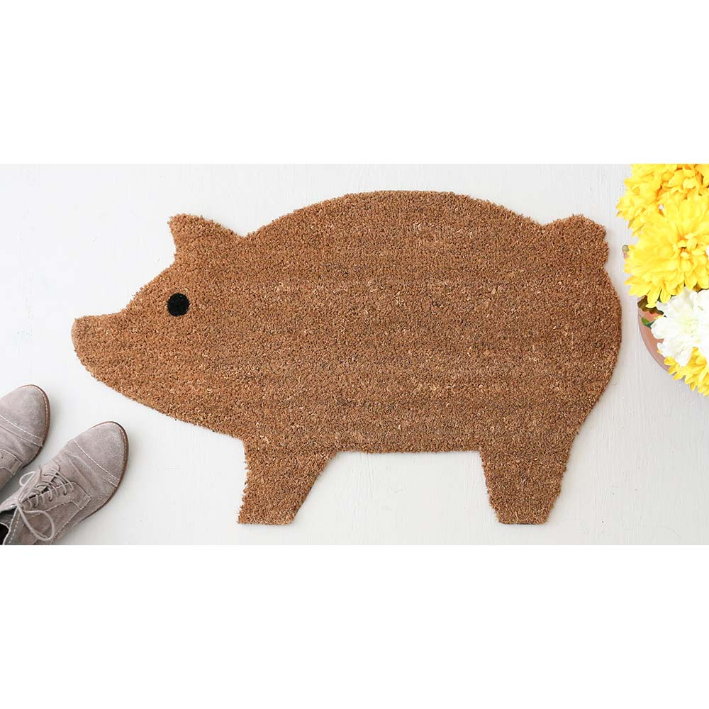 Pig Welcome Mat