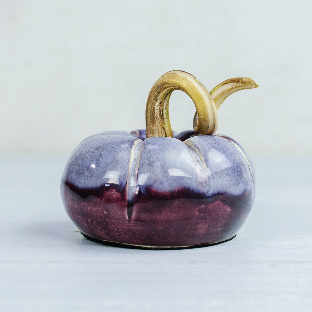 Pottery Pumpkin