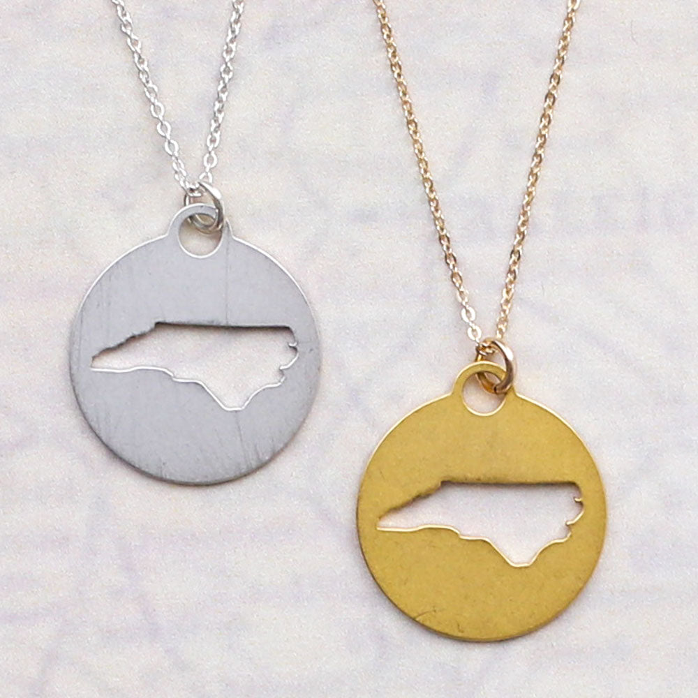 Round North Carolina Necklace