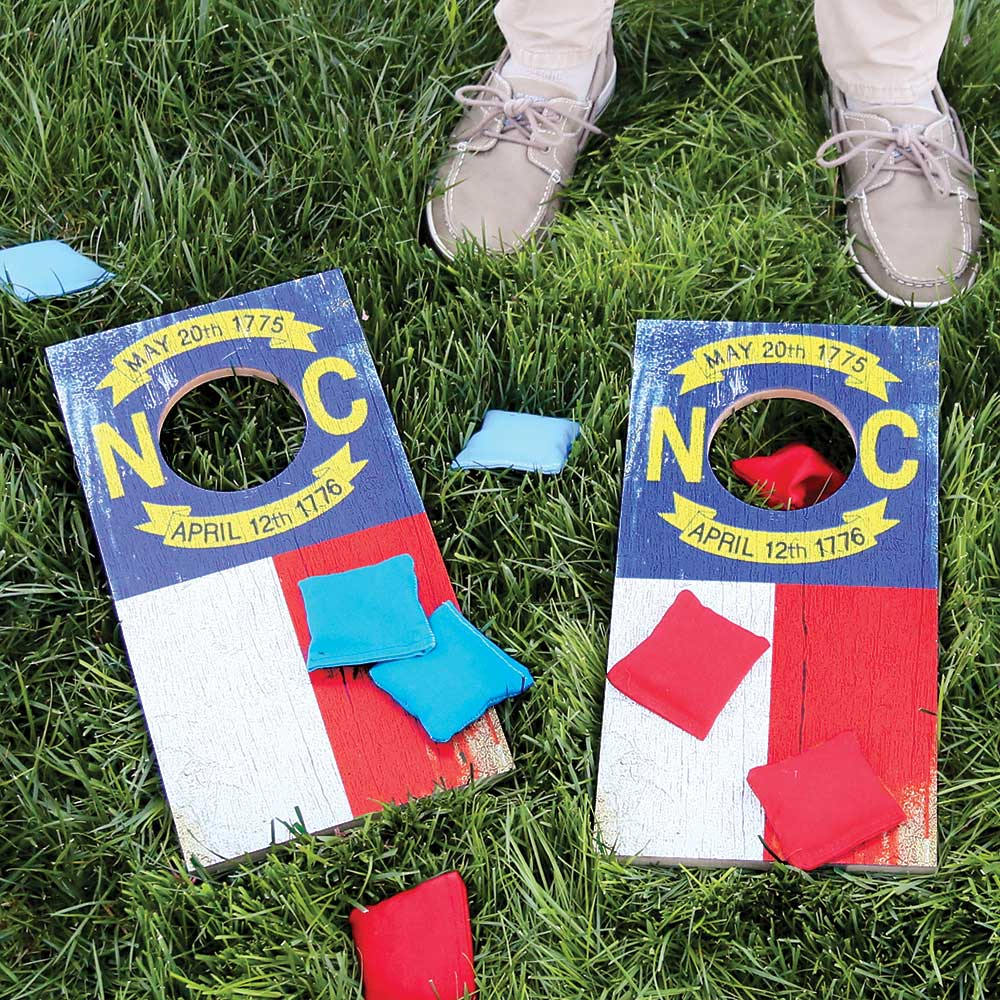 Travel-Size Cornhole Board Set