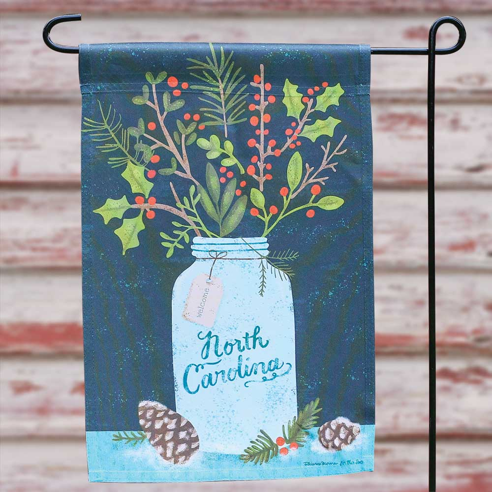 Winter Bouquet Garden Flag