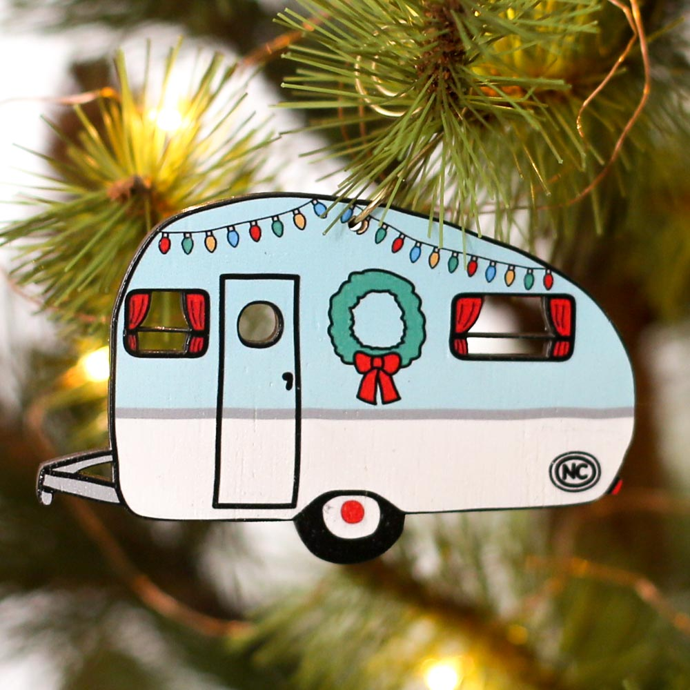 North Carolina Camper Ornament