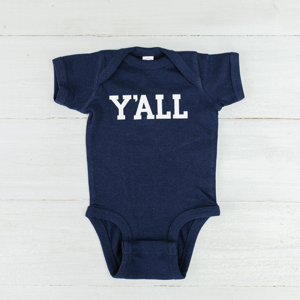 Y'all Baby Bodysuit