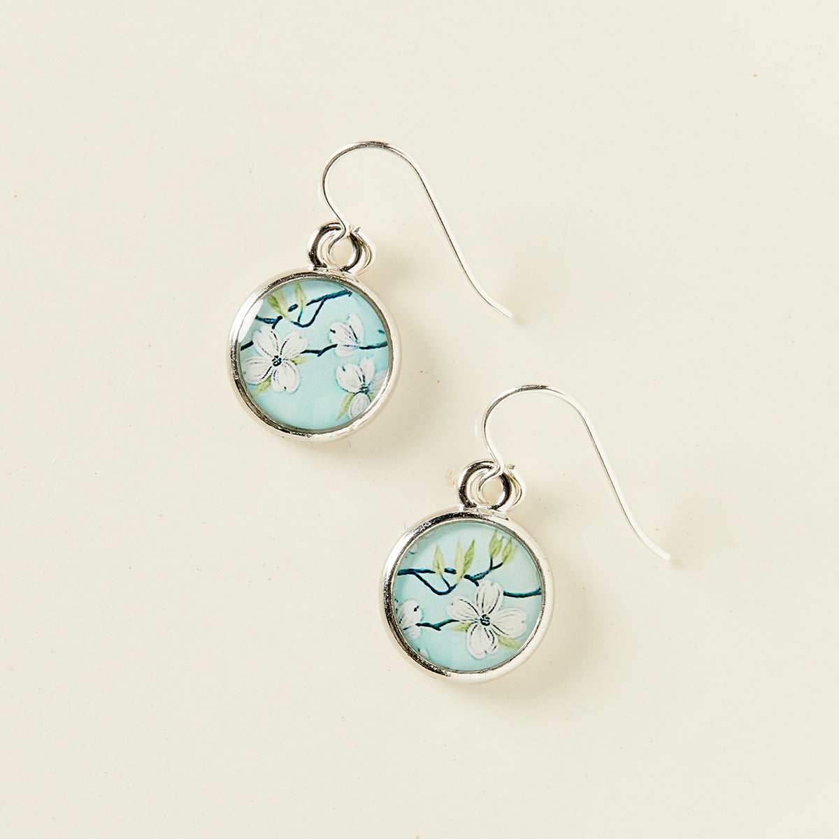 Blooming Dogwood Earrings