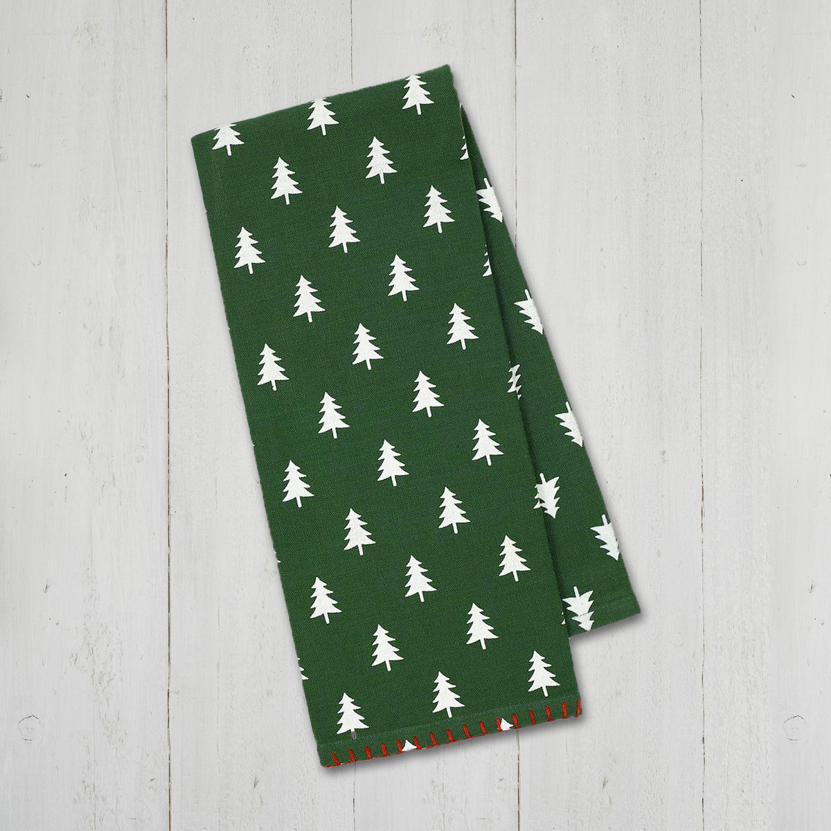 Christmas Tree Pattern Towel