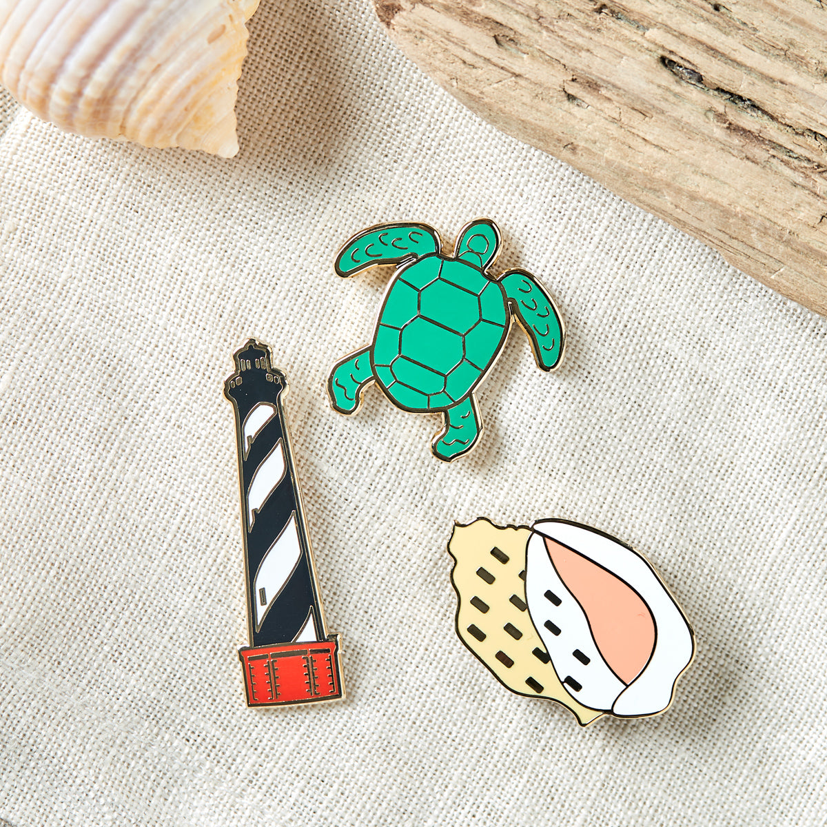 Coastal NC Pin Set