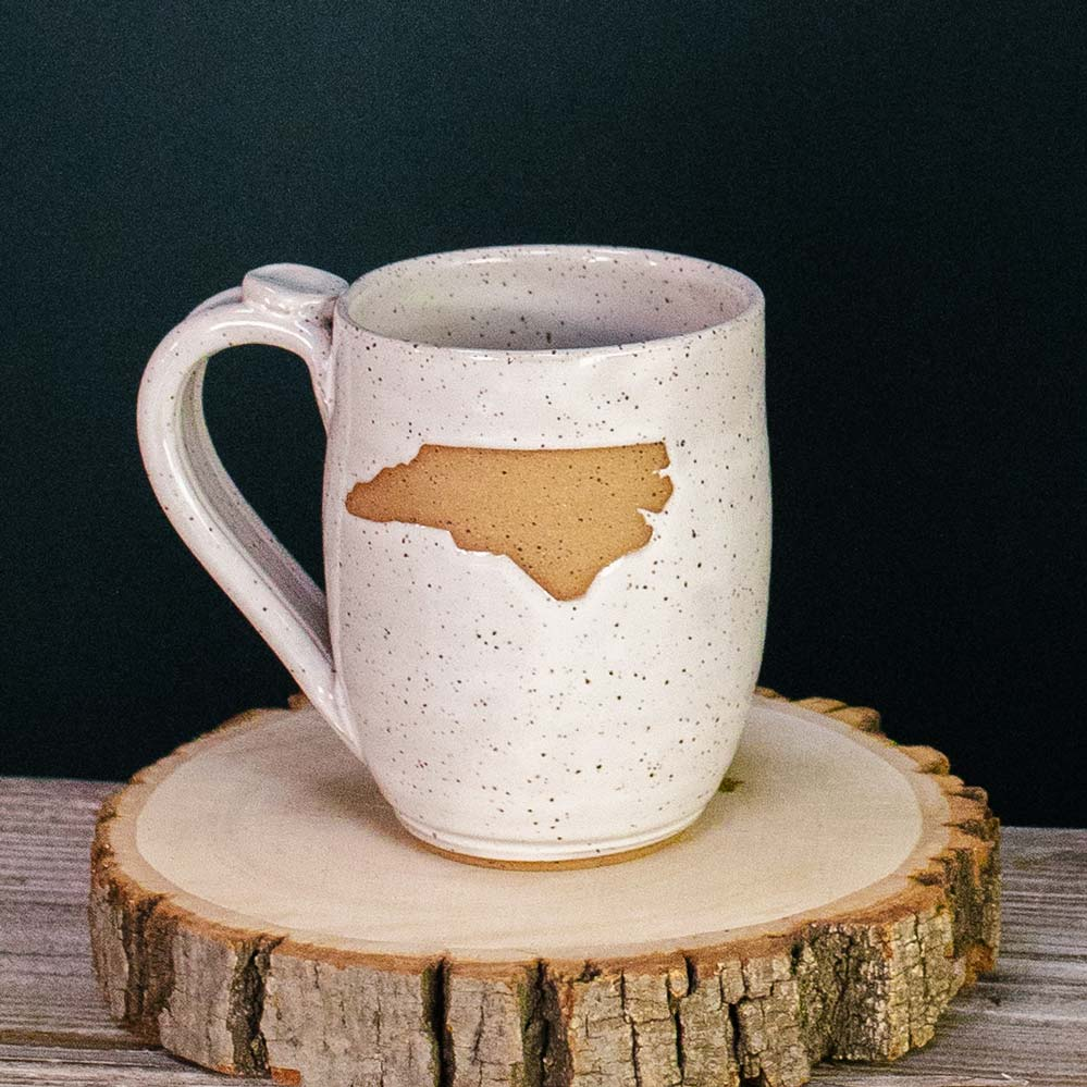 North Carolina Pottery Mug Handmade