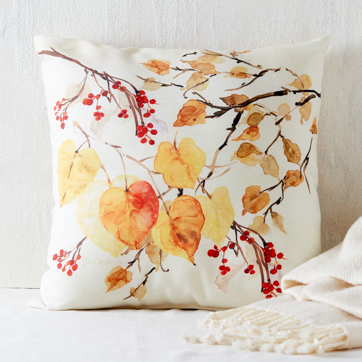 Fall Leaves Indoor/Outdoor Pillow